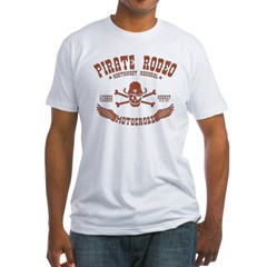 Pirate Rodeo Fitted T-Shirt