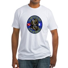 NAVY DIVER Fitted T-Shirt