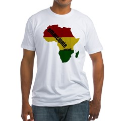 Emancipate Yourself Tee (white) Fitted T-Shirt