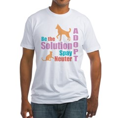 New Be The Solution Fitted T-Shirt