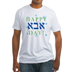 Happy Abba Day- Fitted T-Shirt