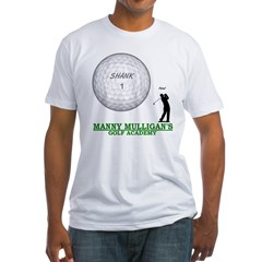 MANNY MULLIGAN'S GOLF ACADEMY Fitted T-Shirt