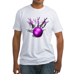 Strike Against Breast Cancer, Fitted T-Shirt