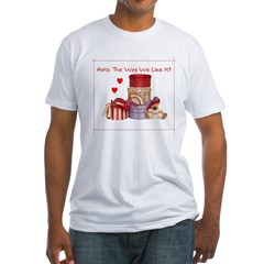 Red Hat Fitted T-Shirt