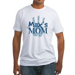 Max's Mom Fitted T-Shirt
