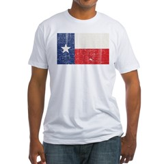 Texas_shirt_dark Fitted T-Shirt