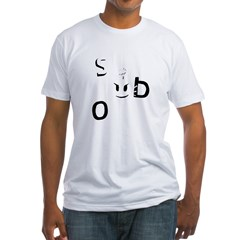 Sex Bob-omb Dark Shirt Fitted T-Shirt