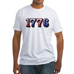 1776 dark Fitted T-Shirt