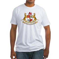 Tasmania Coat of Arms Fitted T-Shirt