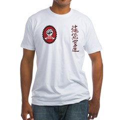 Front & back logo Goju Ryo Fitted T-Shirt