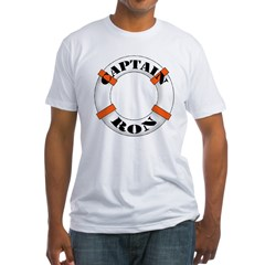 Captain Ron Fitted T-Shirt