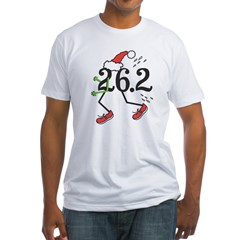 Holiday 26.2 Marathoner Fitted T-Shirt