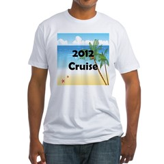 Cruise 2012 Fitted T-Shirt