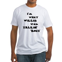 willis5 Fitted T-Shirt