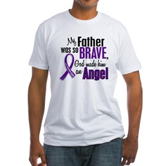 Angel 1 Pancreatic Cancer Fitted T-Shirt