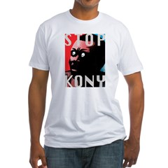 STOP KONY TEES Fitted T-Shirt