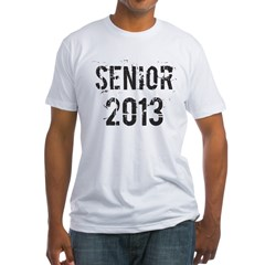Grunge Senior 2013 Fitted T-Shirt