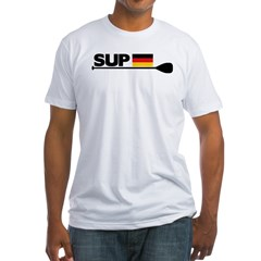 SUP GERMANY Fitted T-Shirt