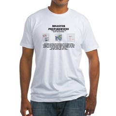 Disaster Preparedness Fitted T-Shirt