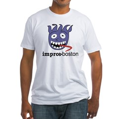 ImprovBoston Fitted T-Shirt