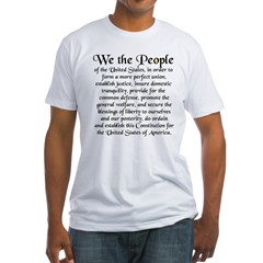 We the People US Fitted T-Shirt