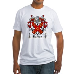 Barron Coat of Arms Fitted T-Shirt