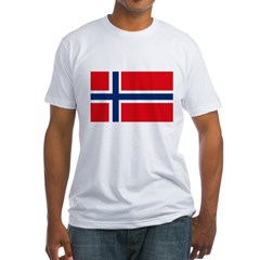 norway222 Fitted T-Shirt
