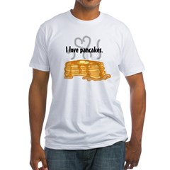 pancakelove Fitted T-Shirt