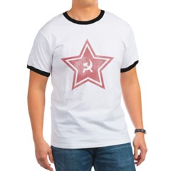 Red-Star-Faded-Blk Ringer T
