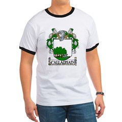 Callaghan Coat of Arms Ringer T