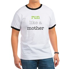 Mother Run Design Ringer T