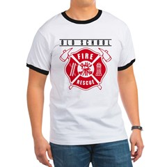 FIREFIGHTERS HOW WE ROLL Ringer T