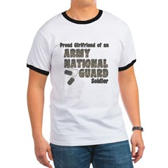 National Guard Girlfriend (tags) Ringer T