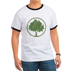 Vintage Tree Ringer T