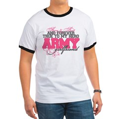 Strong&Sweet Army Girlfriend Ringer T