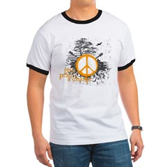 give_peace_scene_orange_dark Ringer T