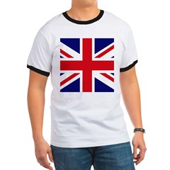 British Flag Union Jack Ringer T