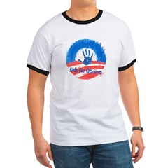 Kids for Obama Ringer T