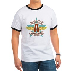 Captain Awesome 2 Ringer T