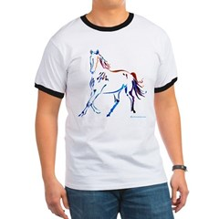 Horse of Many Colors Ringer T
