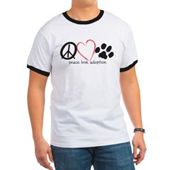 peace love adoption.001 Ringer T