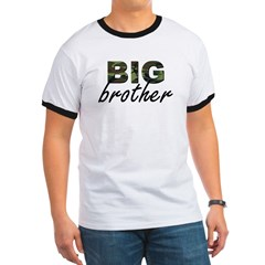 Big brother camo Ringer T