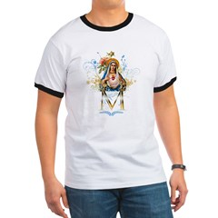 Mary Immaculate Heart Ringer T