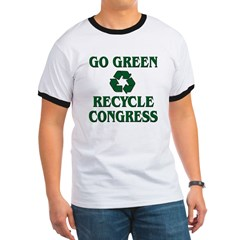 Go Green - Recycle Congress Ringer T