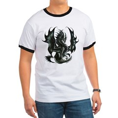 Ruth Thompsons Obsidian Dragon Ringer T