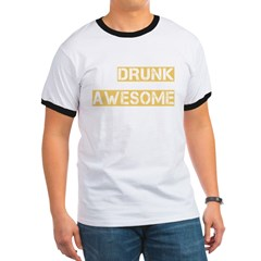 drunk awesome_dark Ringer T
