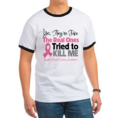 Breast Cancer Fake Ringer T