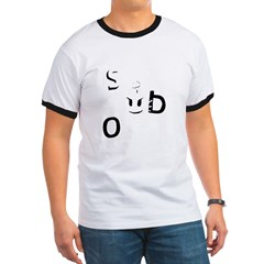Sex Bob-omb Dark Shirt Ringer T