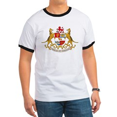 Tasmania Coat of Arms Ringer T