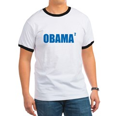 Obama Squared Ringer T